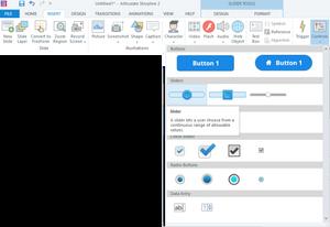 eLearning Storyline Toolbar