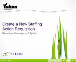 Yukon Action Requisition simulation