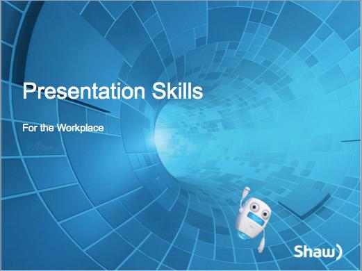 Shaw Presentation Skills