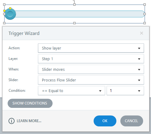 eLearning Storyline Toolbar Settings Trigger