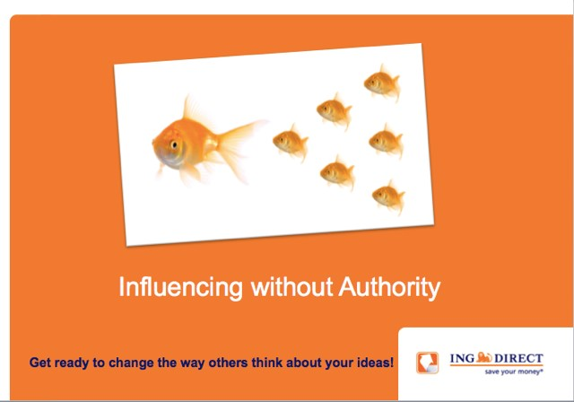 ING Direct Influencing