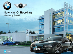 BMW New Hire Onboarding elearning