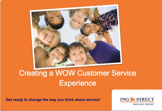 ING Direct Customer Experience