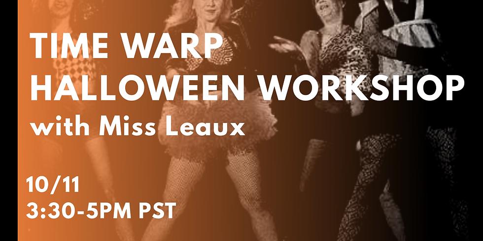 Time Warp Halloween Workshop