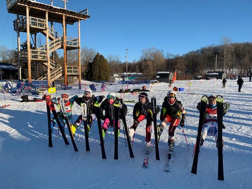 SLHS Ski Team's Region 5 Race Recap