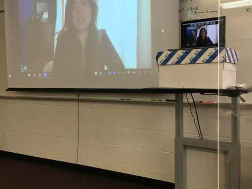 NBC Investigative Journalist Hannah Rappleye Visits SLHS's Publication Class
