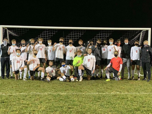 Boys Varsity Soccer Team's Road to taking District Champs, 2nd Overall in OK-Blue Conference