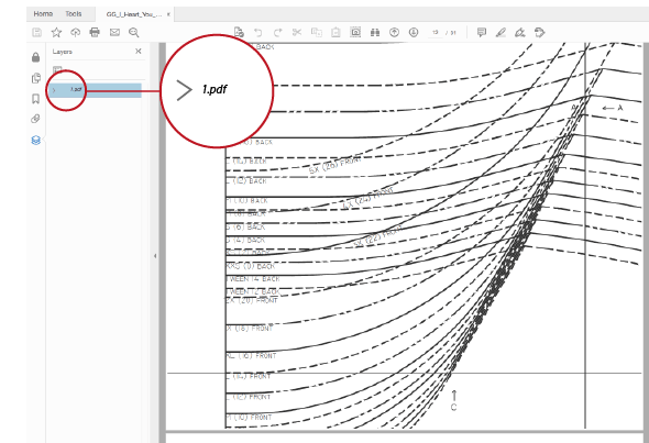 How to Print Pdf Patterns using Layers