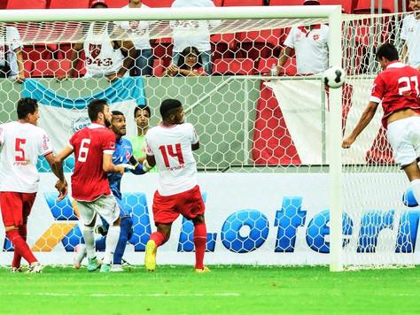 Com um a menos, Brasília arranca empate do Vila