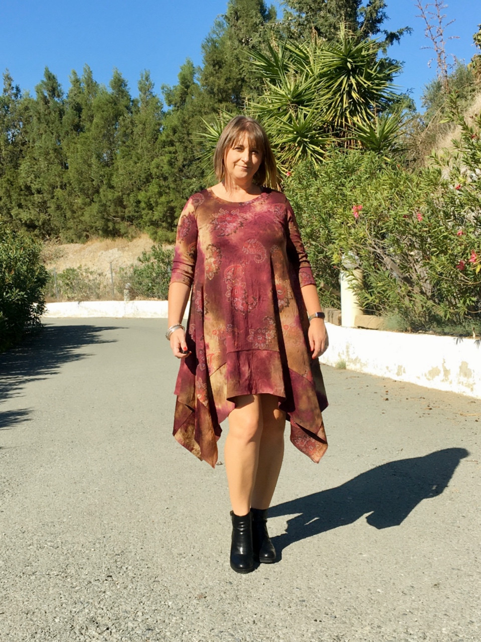 the Ginger Dress by George and Ginger Patterns
