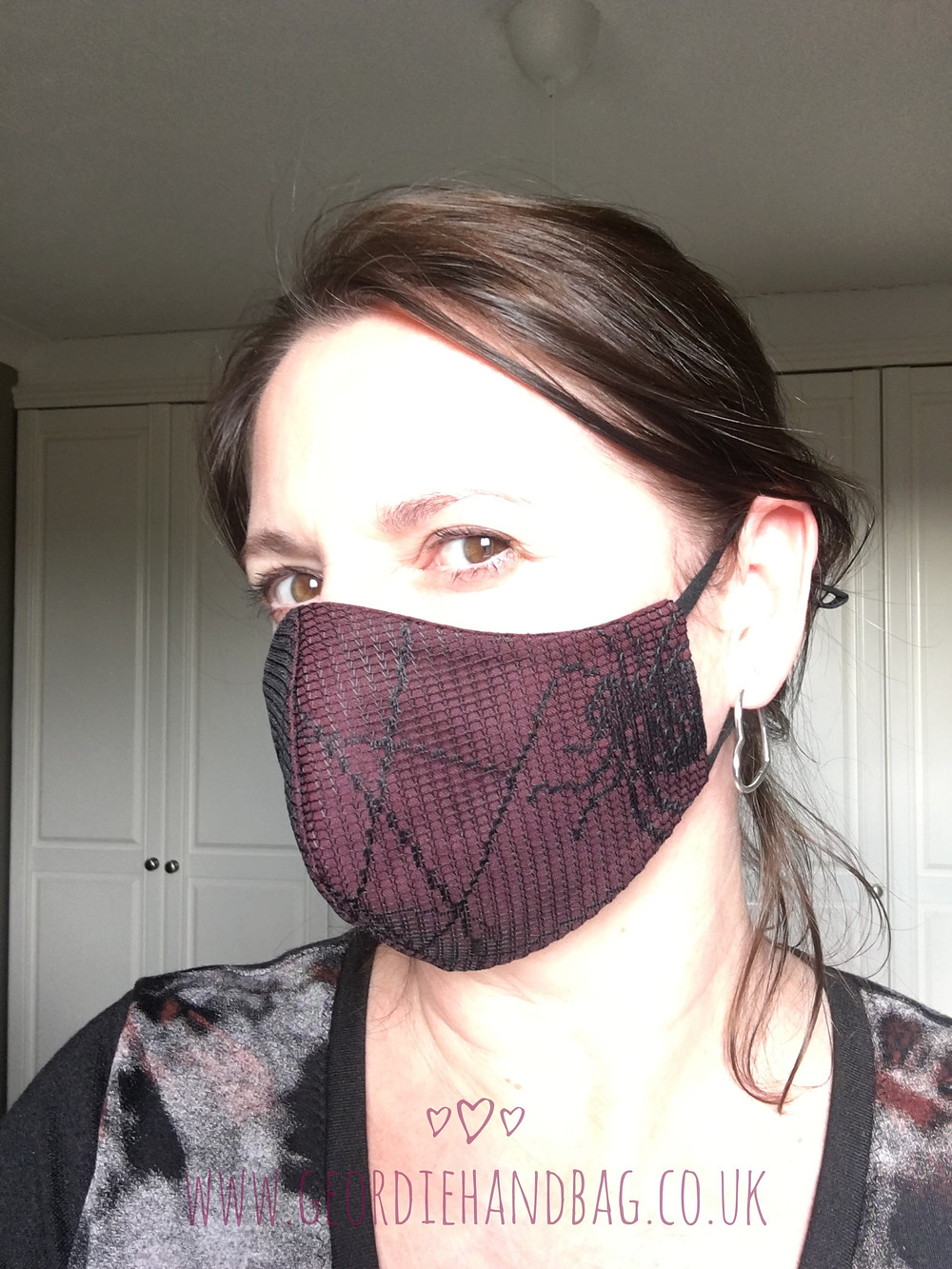 Free pdf face mask with lace