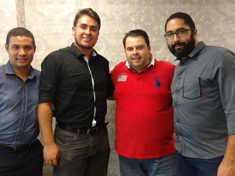 Dirigentes da Federação de Futebol Americano se reúnem com o Deputado Julio Cesar