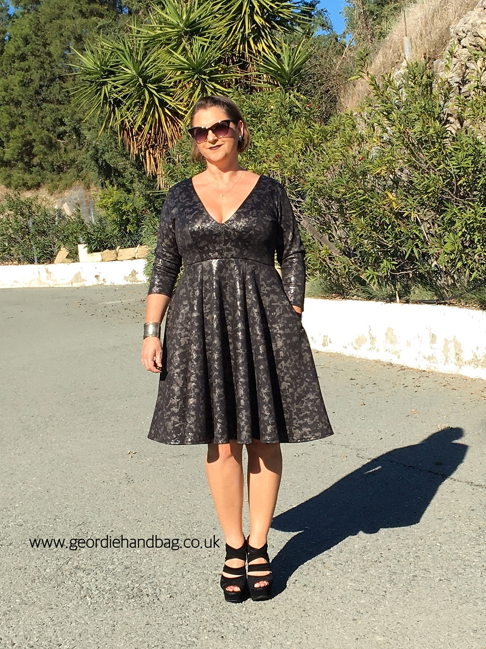 Gala Gown pdf pattern review by Patterns for Pirates