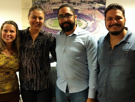 Secretaria Leila Barros recebe dirigentes da FBFA e Bora Viver Outdoor