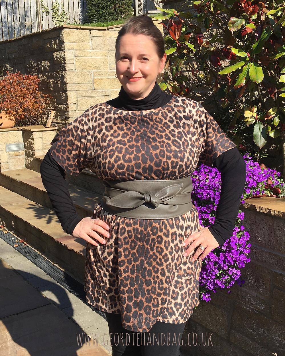 Tie Me Up Belt with Dolman Dress Pdf Pattern by George + Ginger Patterns