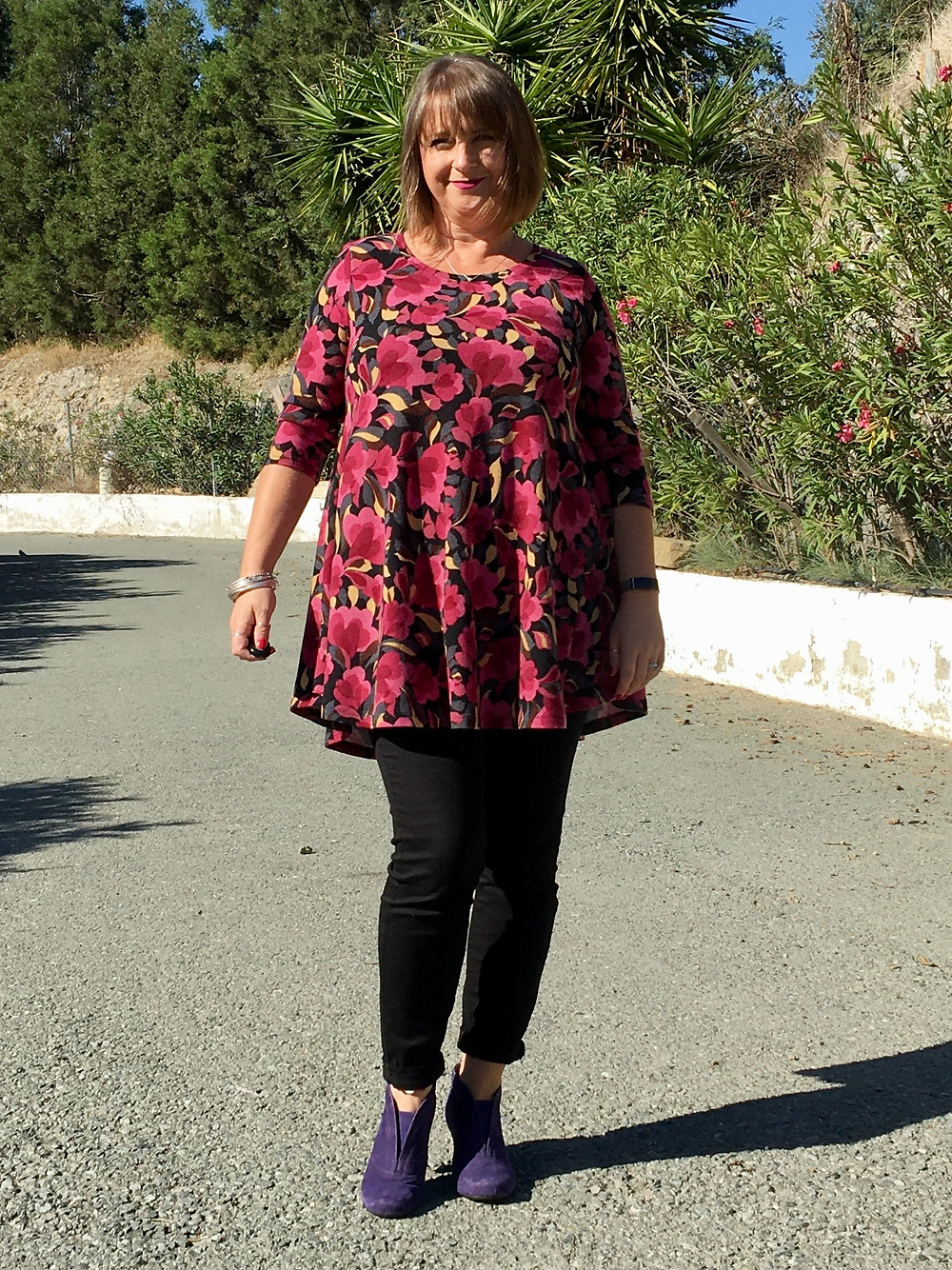 Drama and Ginger Dress by George and Ginger Patterns