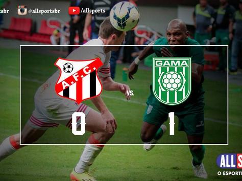 Gama vence amistoso contra o Anápolis com gol de Baiano