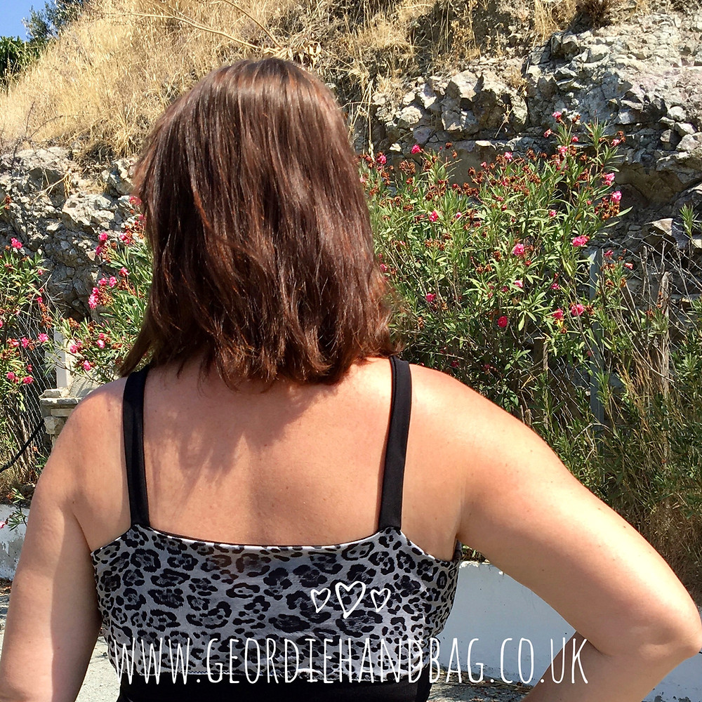 Little Black Bra Pdf Pattern by George and Ginger Patterns