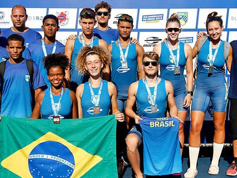 Brasil conquista 16 medalhas no Sul-Americano Júnior e Sub 23