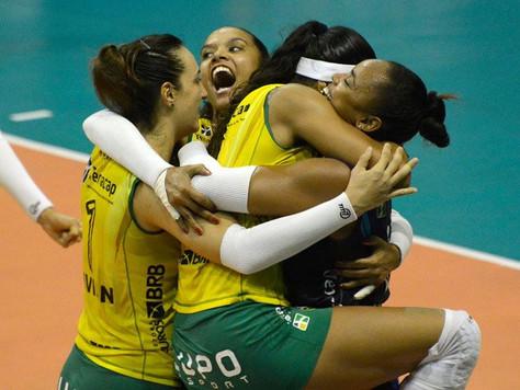 Brasília Vôlei vence mais uma na Superliga