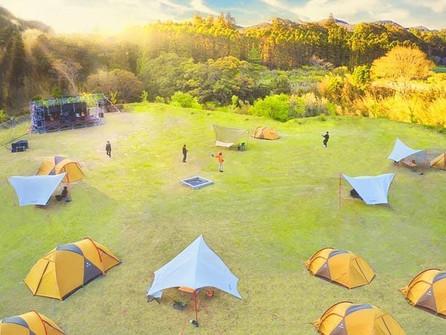 9月26日(土)『REWILD MUSIC FES CAMP』@千葉勝裏市