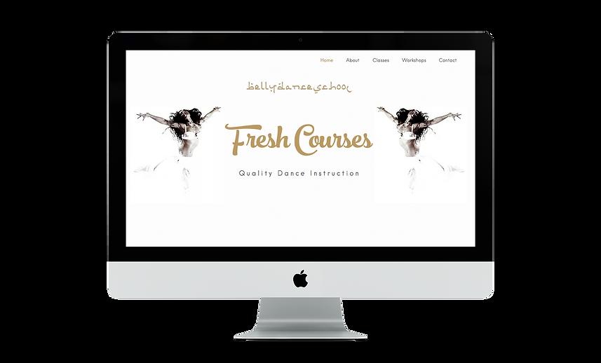 This is a BloomCool website for Bellydanceschool