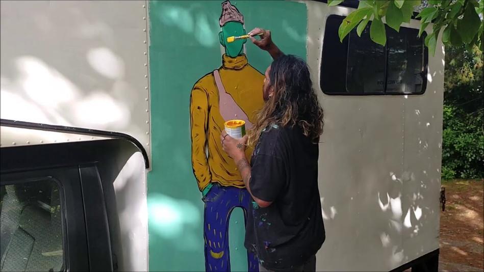 Artist Ahsin Ahsin - Hamilton