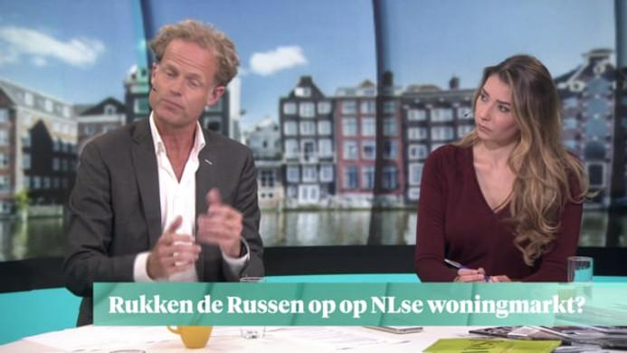 RTL-Z TV (The Netherlands) Russen richten hun pijlen op de Amsterdam's vastgoedmarkt met advies van Ignace Meuwissen