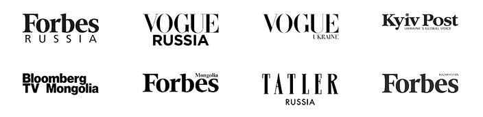 Logos magazines