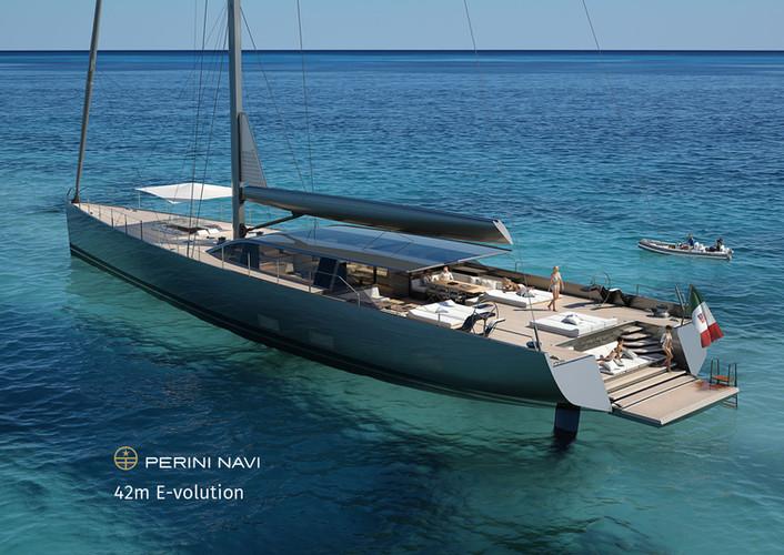Perini Navi Hybrid Yacht 42m