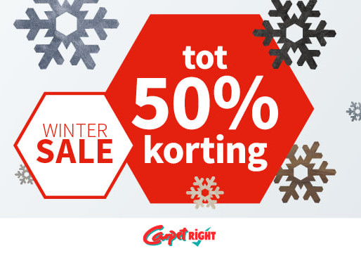 Wintersale bij Carpetright!