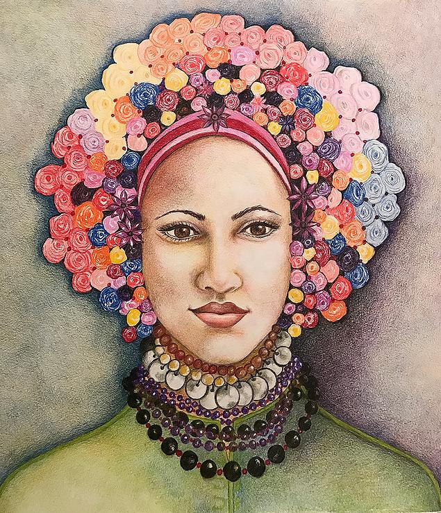 Lady with Aura - by Sokia