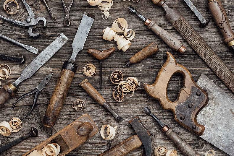 Jan Hovens - houtbewerking gereedschappen