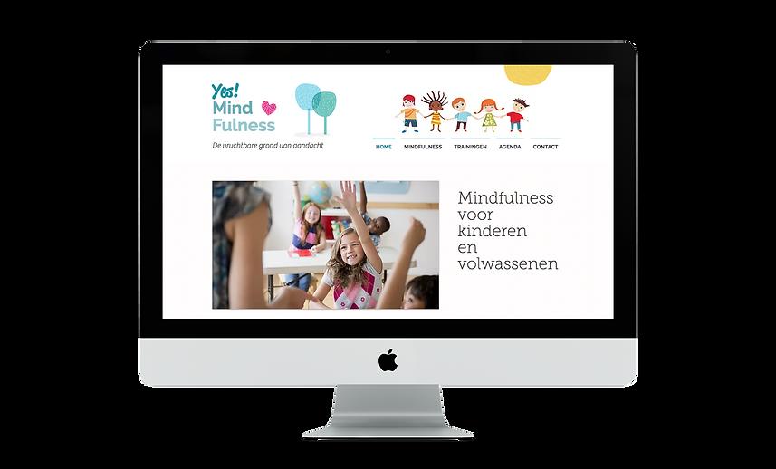 Web design | Bloomcool design for YesMind!Fulness