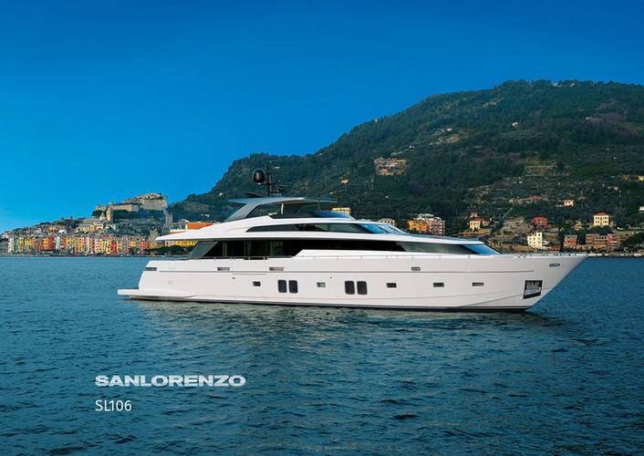 SanLorenzo Hybrid Yacht
