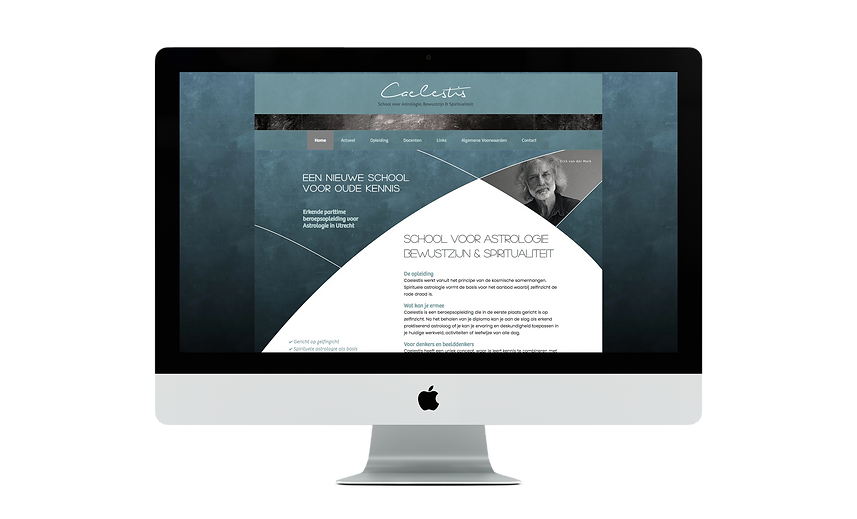 This is a BloomCool website for Caelestis