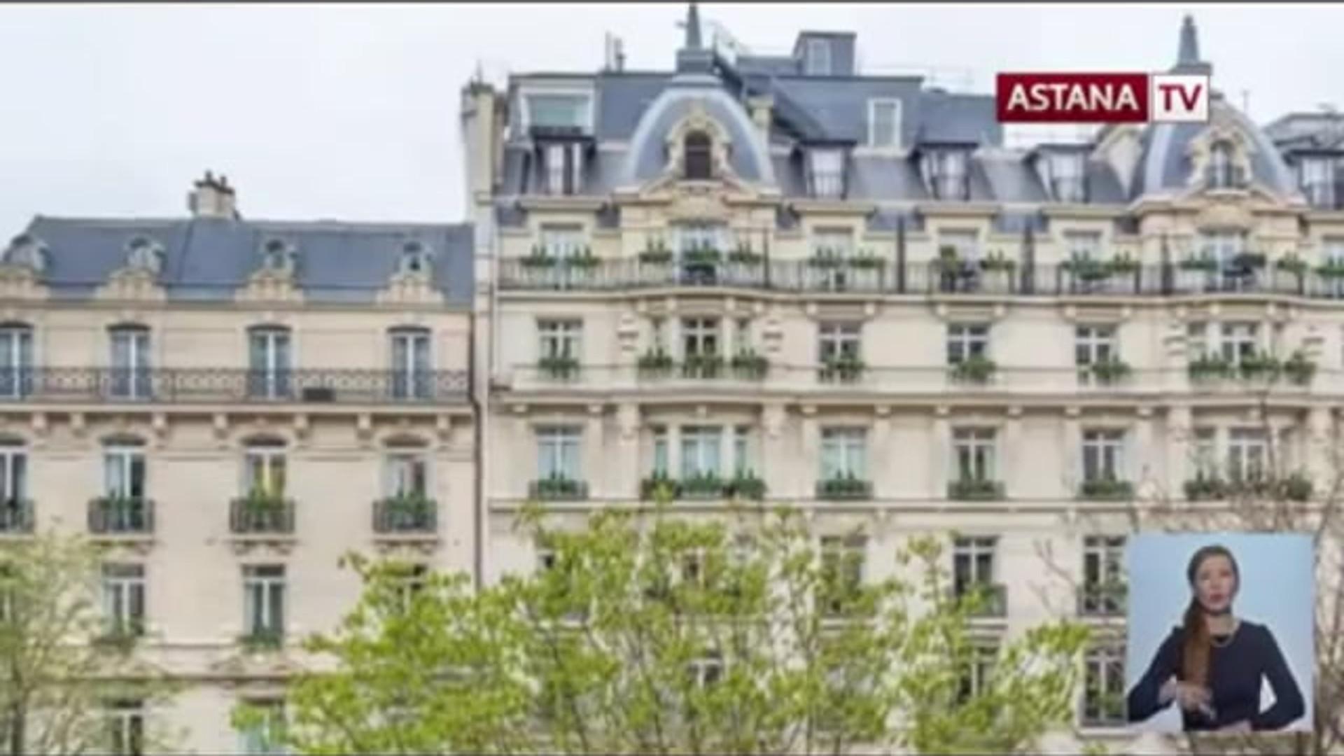Most Expensive Apartment Sold in Paris (Astana TV - Kazakhstan)