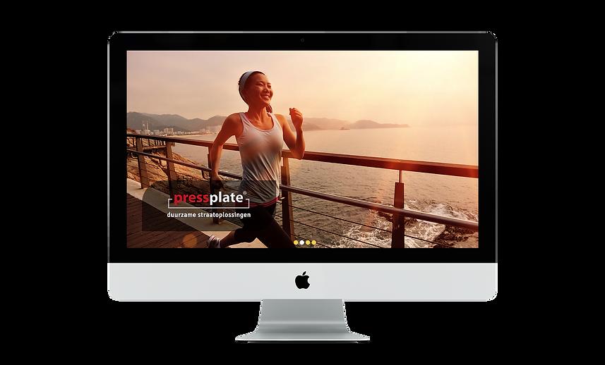 Web design | Bloomcool design for Pressplate