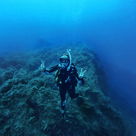 Sofia Maggi diving