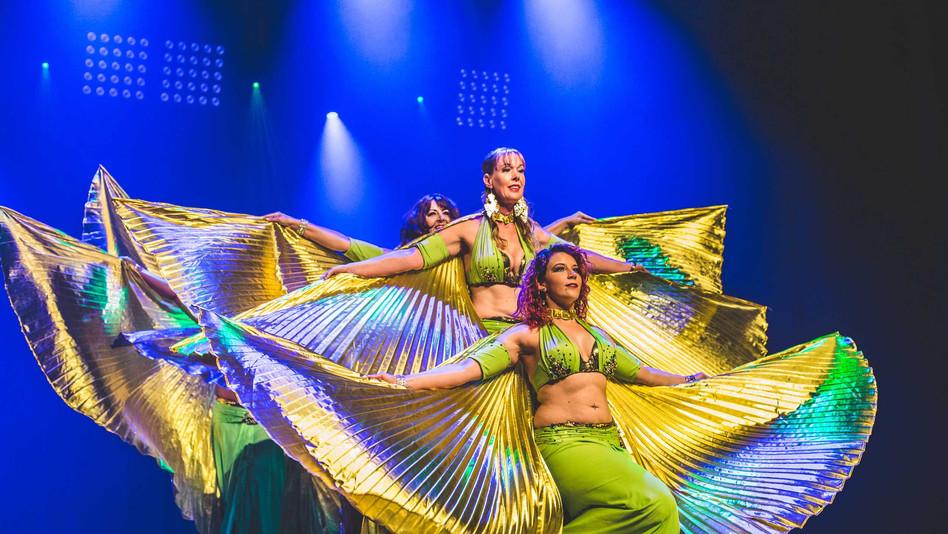Agnes Oriental Dance en de dansmarathon van Talpa