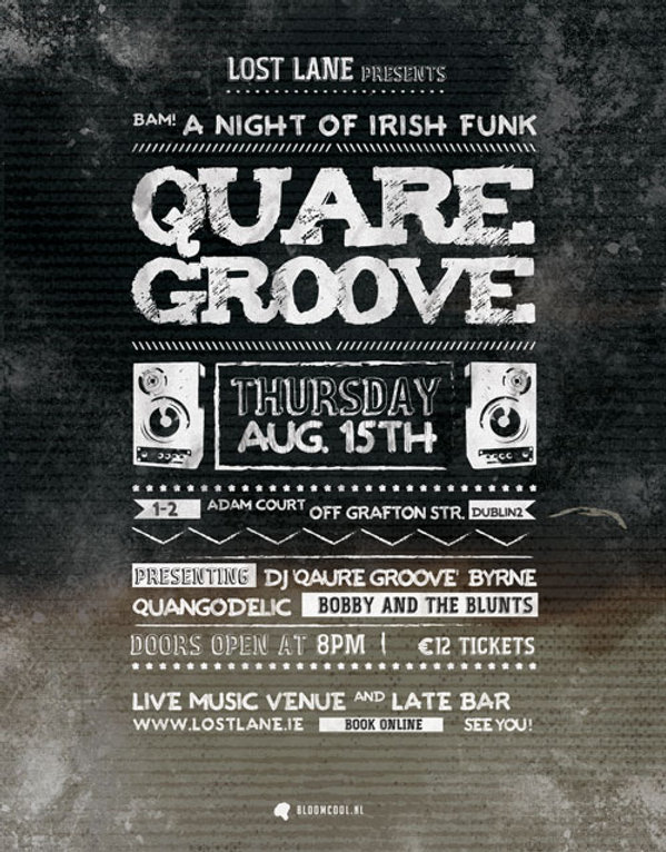 Quare Groove - Lost Lane - small- bloomcool design