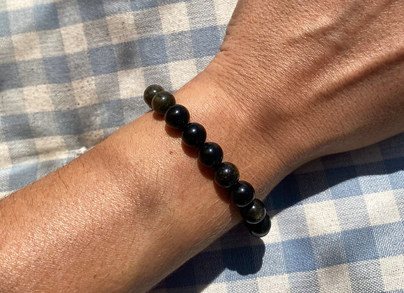 Pulseira Obsidiana - Obsidian Bracelet
