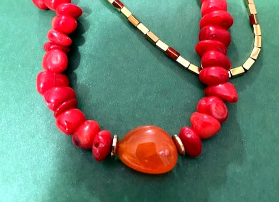 Cali Coral Necklace