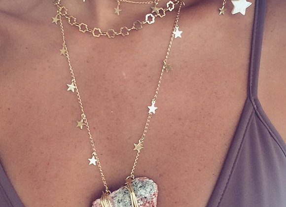 Choker Mini Estrelinha - Gold