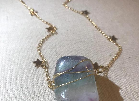 Coroa Necklace - Fluorite