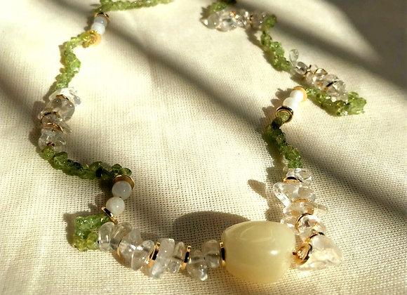 Papaya Necklace