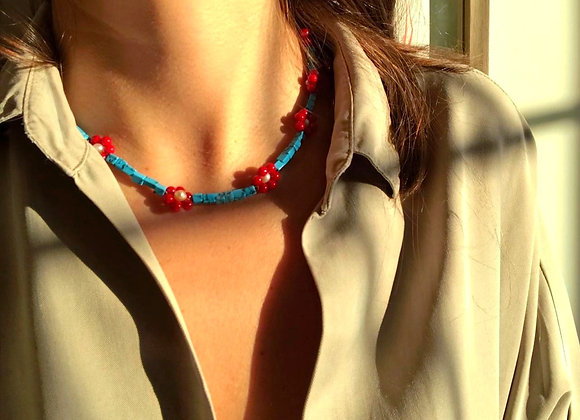 CALI-FLOWER Necklace.
