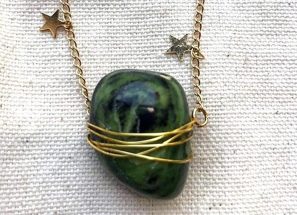Coroa Necklace - Jade