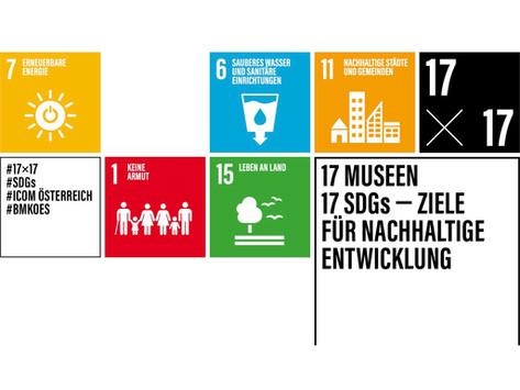 17 Museen 17 SDGs Ziele für eine nachhaltige Entwicklung