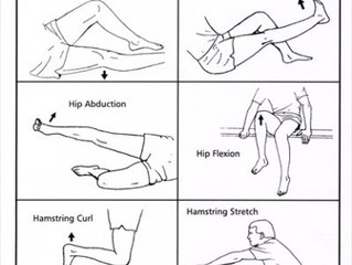 Sore Knee Exercises and Stretches